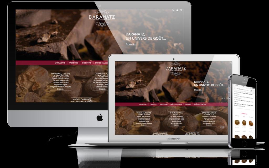 Site responsive Daranatz