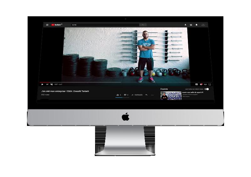 Film Ecna sur ordinateur de bureau