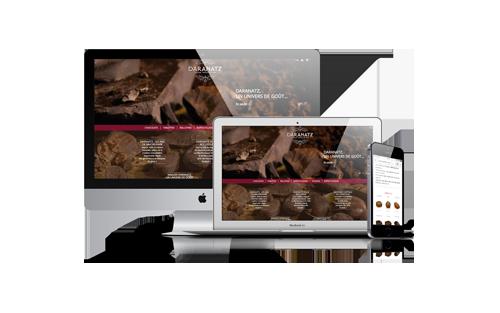 Site internet Daranatz