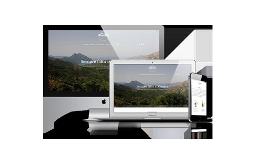 Site internet pour Maison Damiani