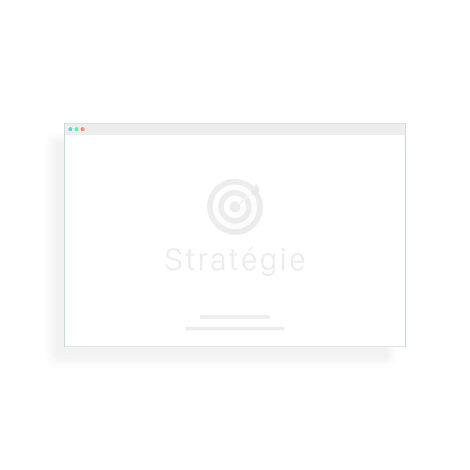 Illustration graphique Stratégie SEO