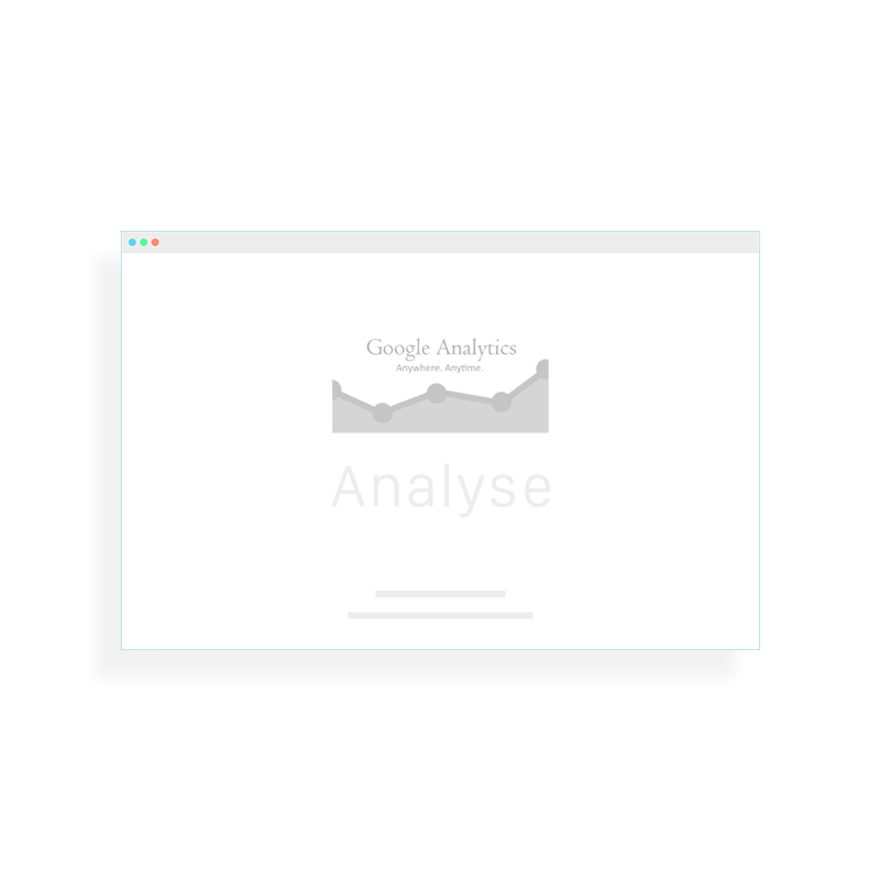 Illustration graphique Google Analytics